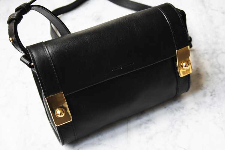 See By Chloé Jill black leather bag