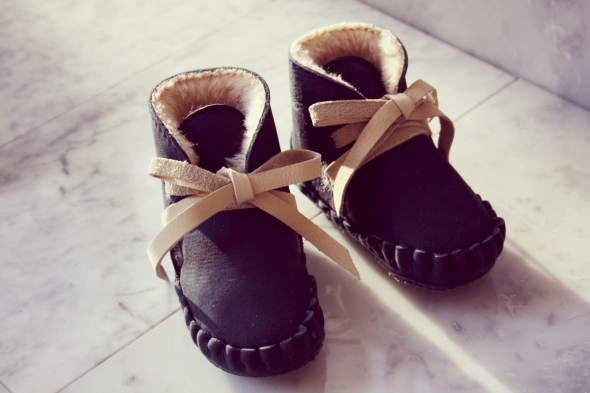 Donsje Baby shoes schoenen handmade leather