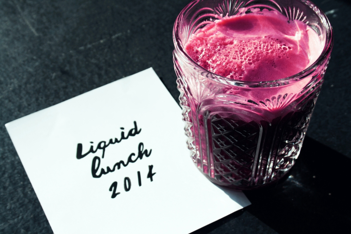 Magimix LIquid lunch juice crystal glass