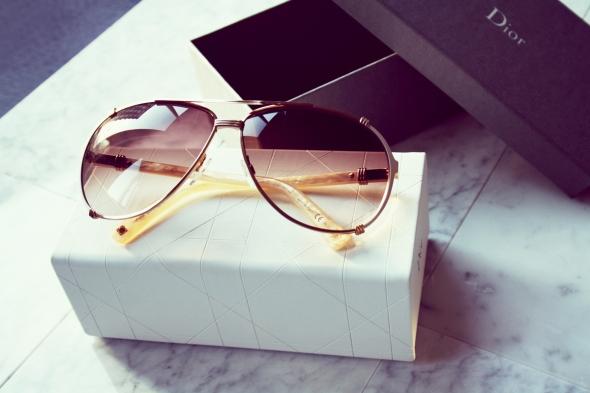 Sunglass Dior Chigaco Marble Aviator 2014 1431 Zonnebril