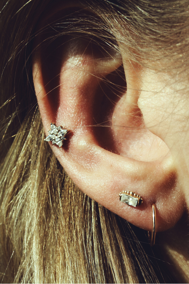 Earspiration Piercing gold BVLA