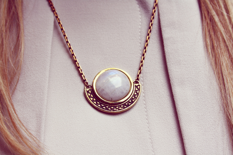 Pamela Love Necklace moonstone