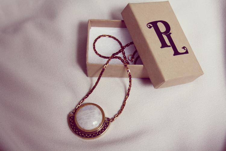 Pamela Love Necklace moonstone