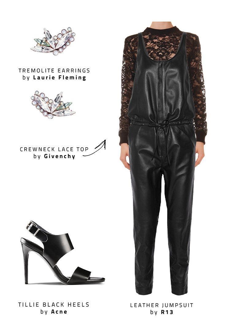 Christmas look R13 laurie fleming acne givenchy