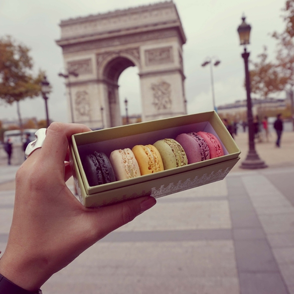 Flashtrip to paris laduree