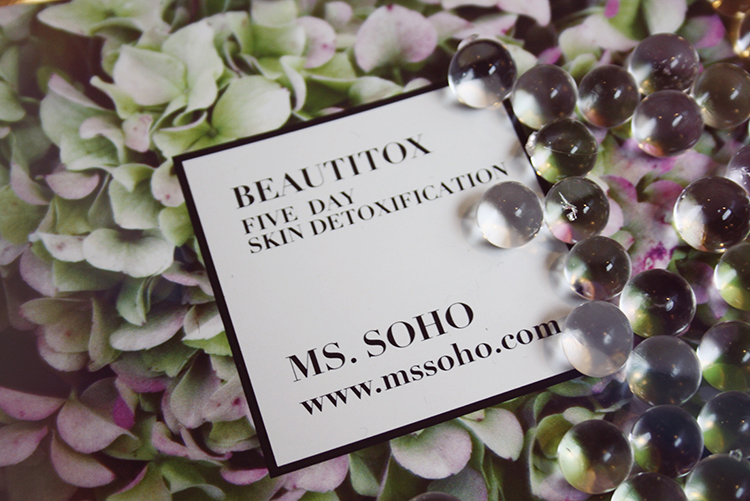 Ms soho three-day collagen cleanse
