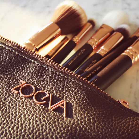 ZOEVA Brushes Rose Golden Luxury Set makeup