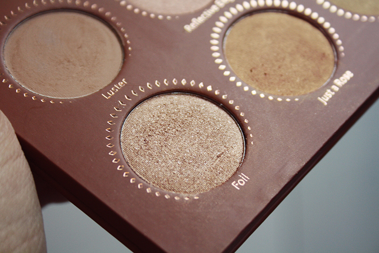 Zoeva rose golden eyeshadow palette review