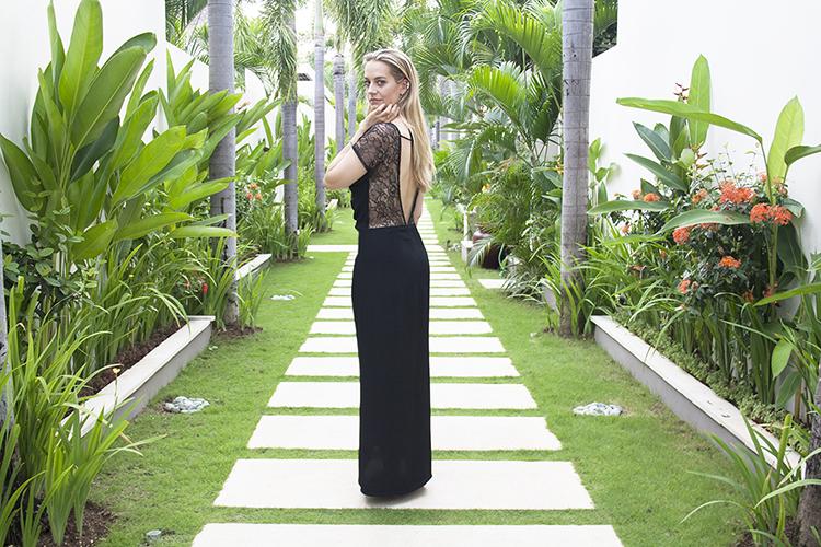 Chandra Villas Bali Fashion blogger Seminyak