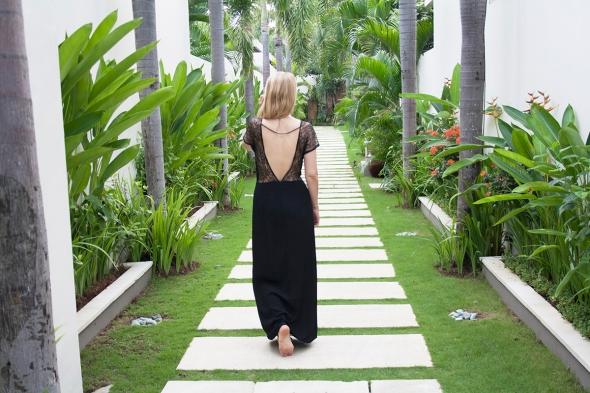 Lulu Yasmine Zoe maxi dress fashion blogger