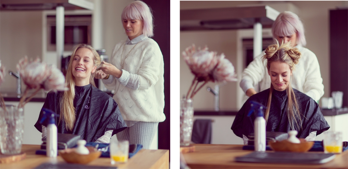 1 Fashion blogger Gyld hairdresser at home kopie