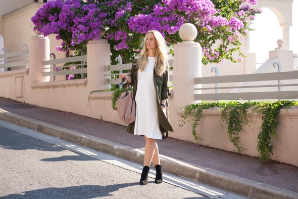 Fashion blogger Marie Hell white dress 13