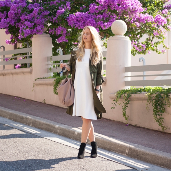 Fashion blogger Marie Hell white dress 13