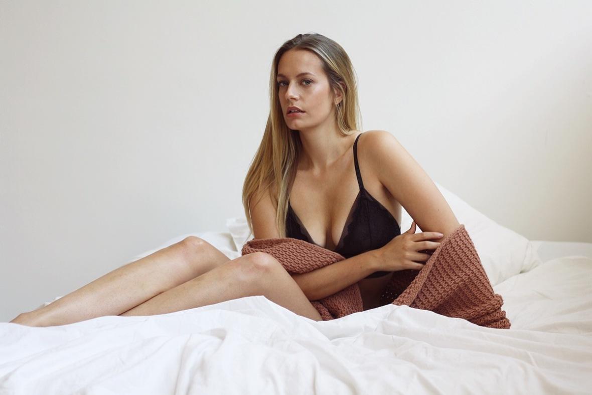 Fashion blogger Scala Lingerie AD brazilian intimate