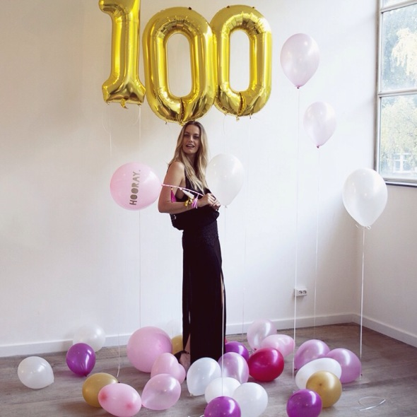 100K on Instagram fashionblogger Milestone
