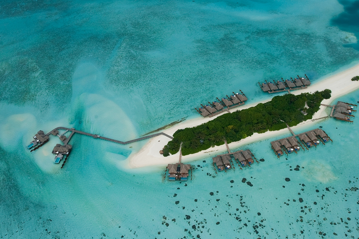 Conrad Maldives_ Aerial view (4)