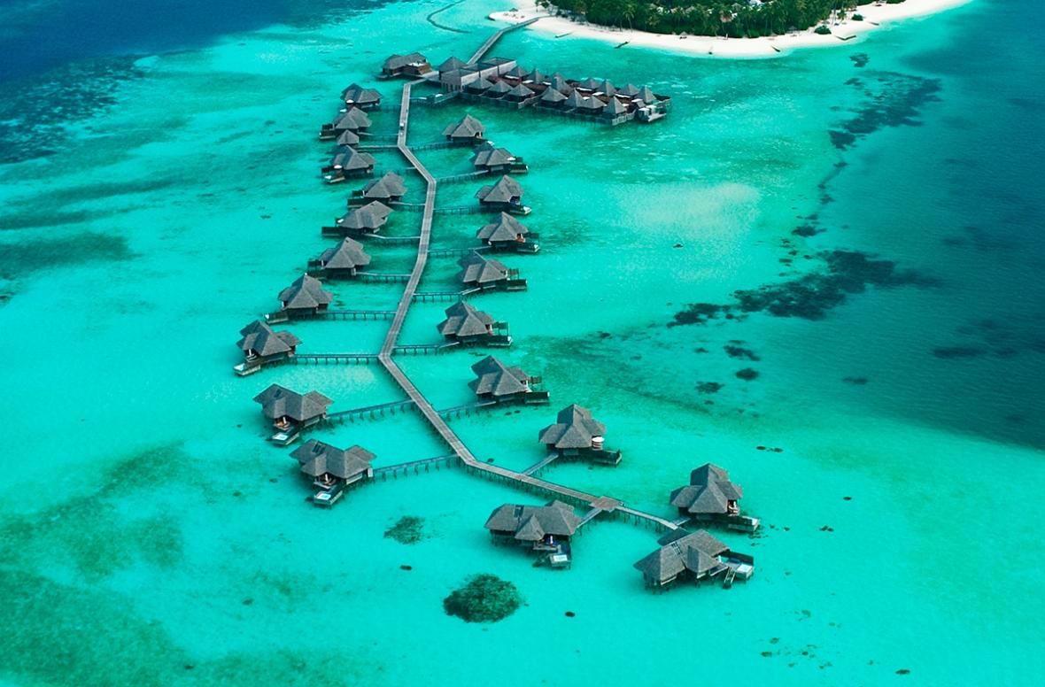 Conrad Maldives_ Aerial view LR