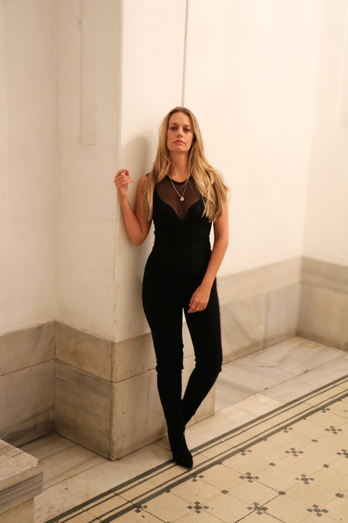 Fashion blogger Reiss Fashion Istanbul Faux fur