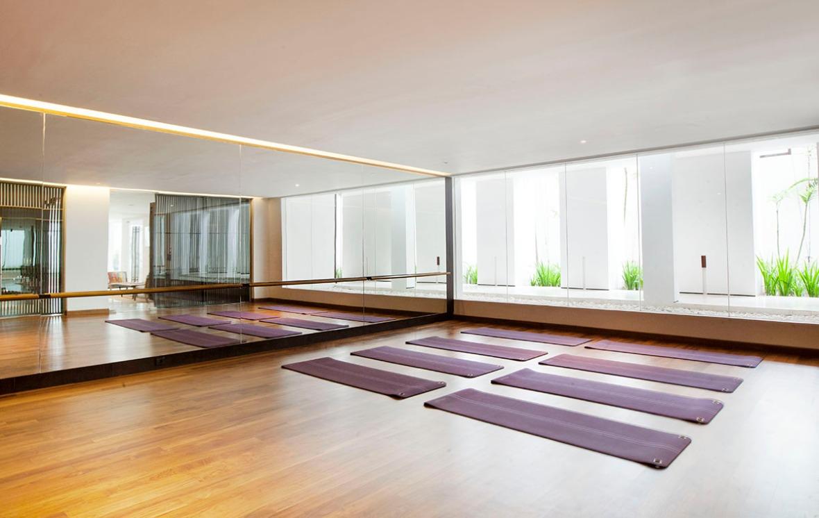 Alila Seminyak - Gym - Yoga Roomlr
