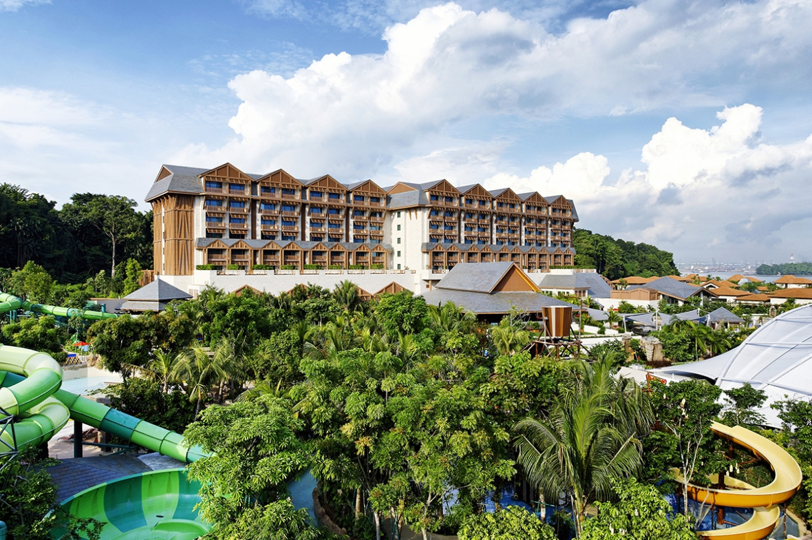 Blogger review Equarius hotel Sentosa Singapore