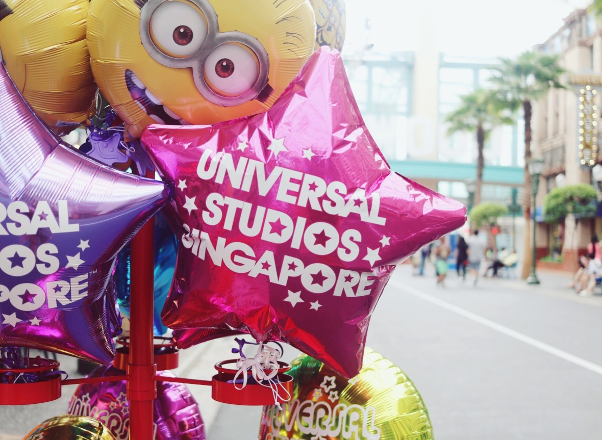 Blogger review Universal Studios Sentosa Singapore