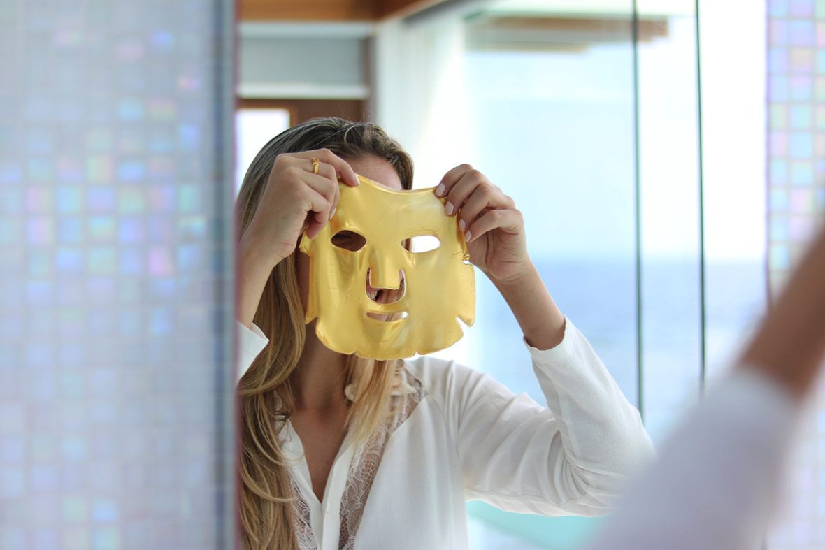 ms soho three day collagen cleanse gold masks before after