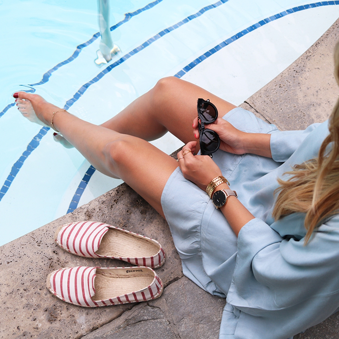 Fashion blogger Hotel Bel air Los Angeles
