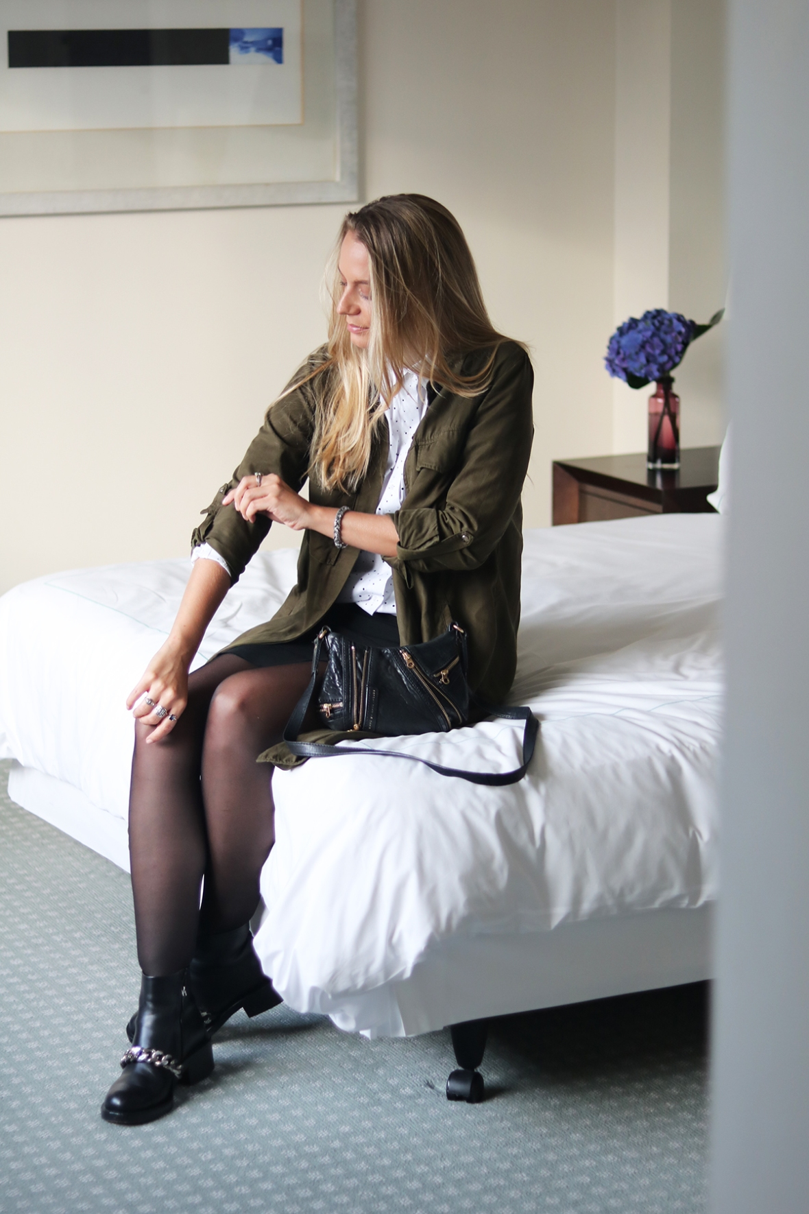 Fashion blogger Review Hotel London One Aldwych Covent Garden