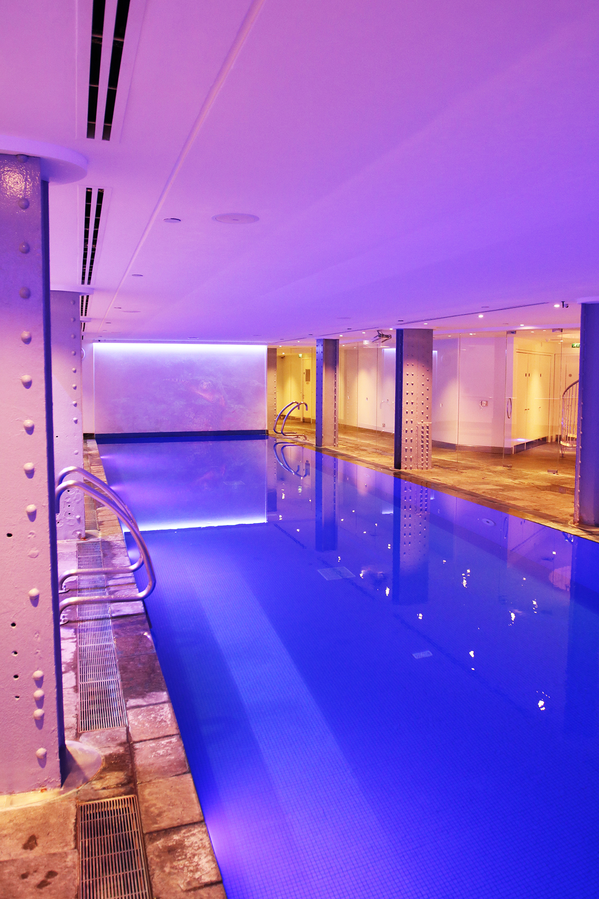 London moments at one aldwych and a thousand words for Chlorine free swimming pool london