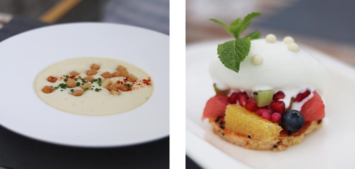 Blogger Hotel review Das Central Austria Flowers