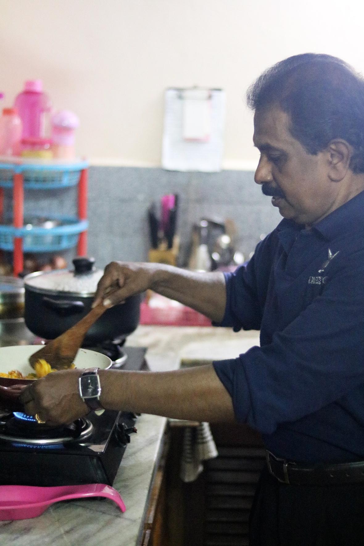 Blogger AATW India Jetairways Cooking Class
