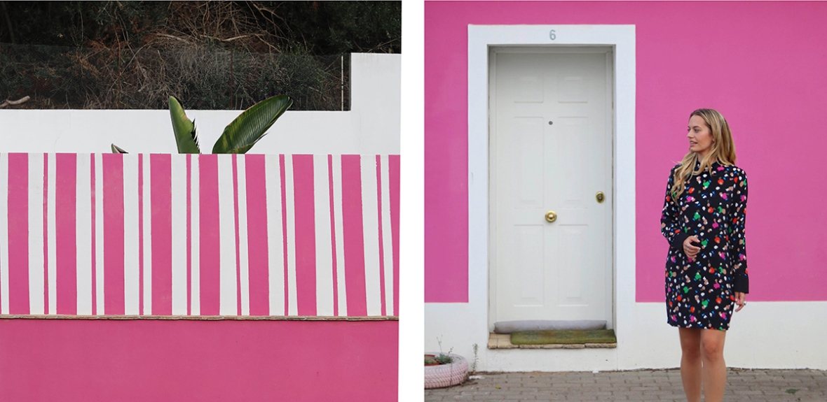 Pink House Algarve Monchique BloggerA