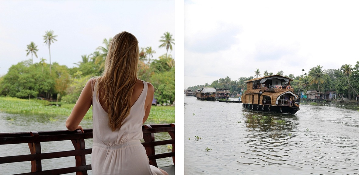 Blogger AATW India Jetairways Houseboat