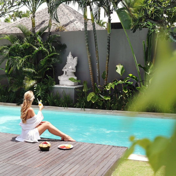 Chandra Villas Bali Blogger review