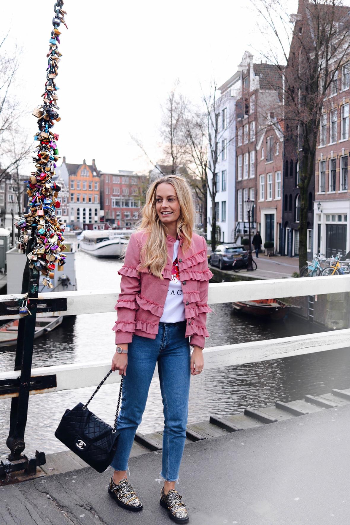Rebelle Vintage designer store Blogger Merel
