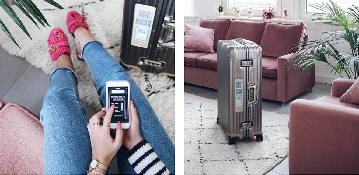 Rimowa Electronic Tag review Fashion travel Blogger