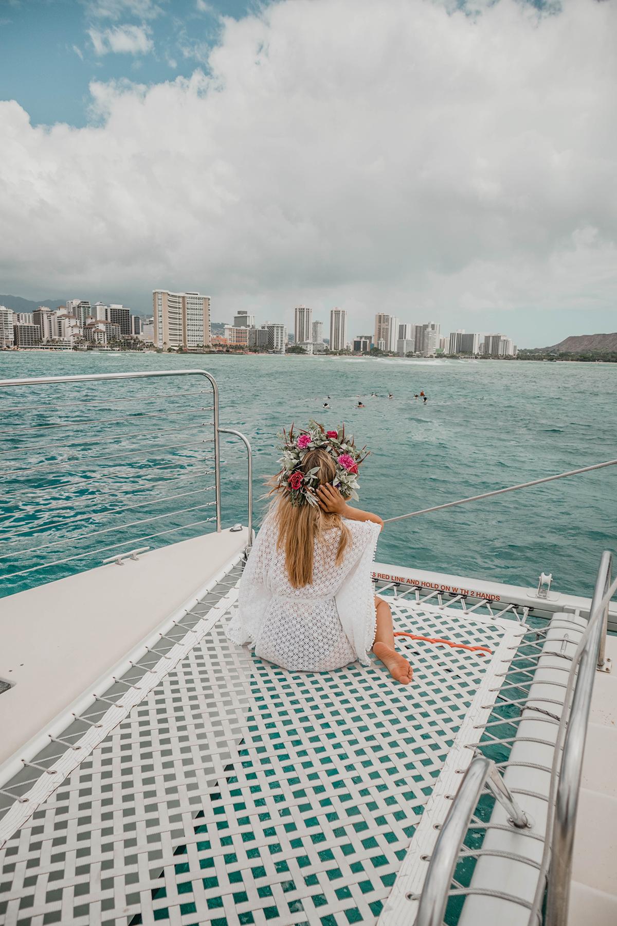 Waikikian cocktail dress