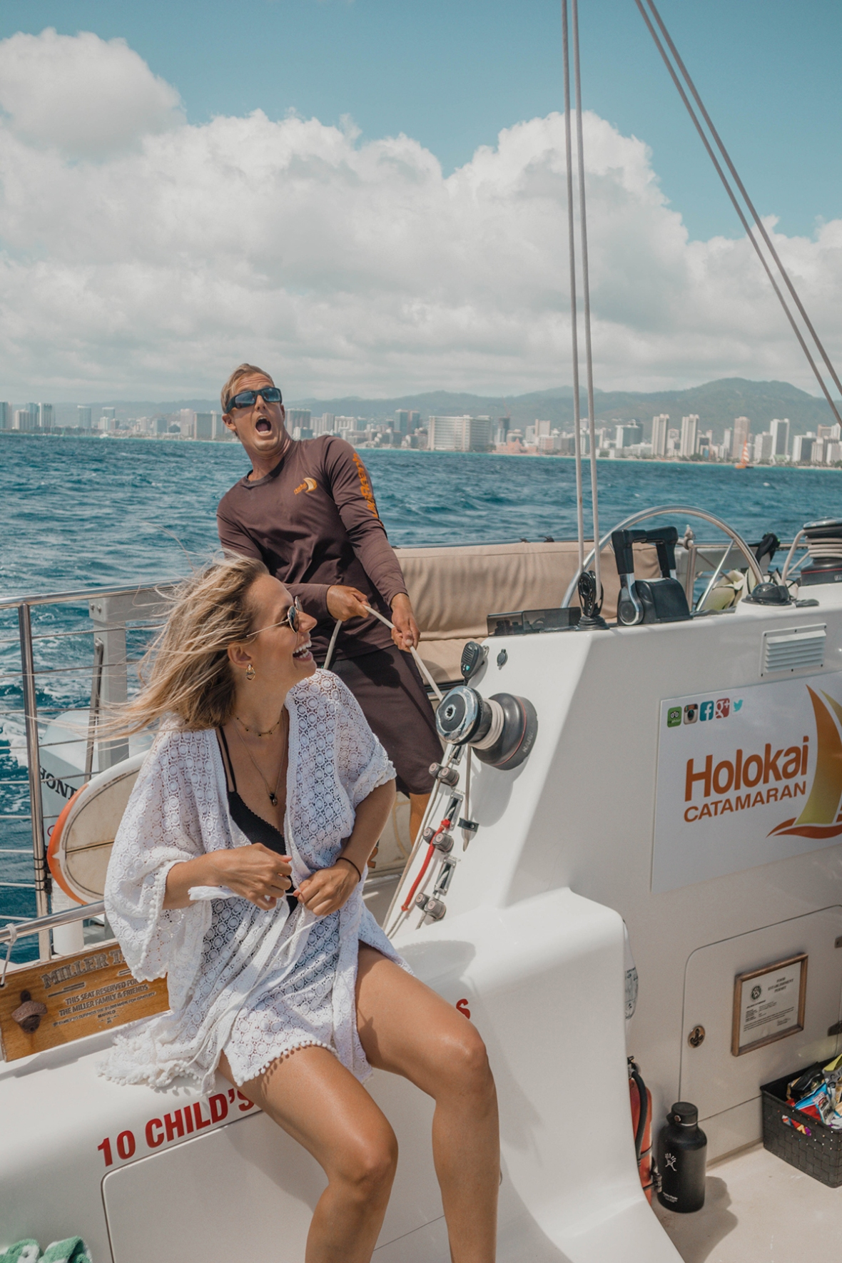 Hotel Review Outrigger Merel Waikiki Hawaii boat