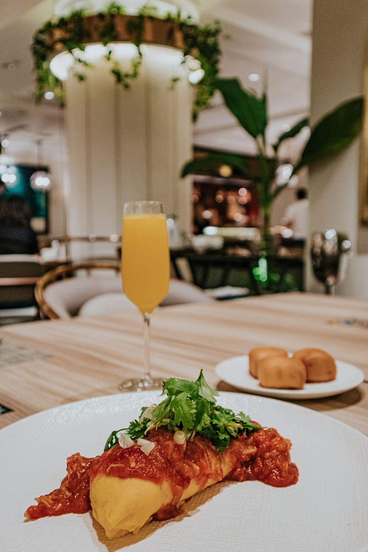 Review Four seasons Singapore after renovation Breakfast one ninety