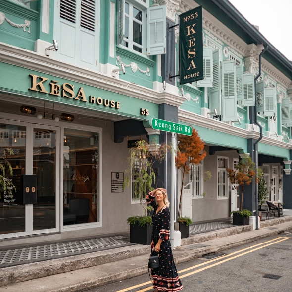 Review KēSa House Singapore blogger