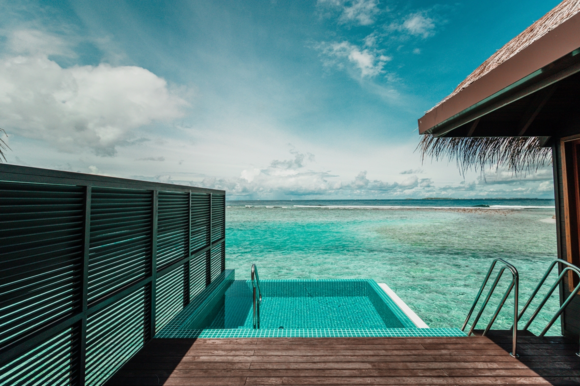 Review Sheraton Maldives speedboat transfer